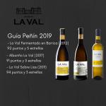 Bodegas La Val suma 635 puntos y logra un total de 21 estrellas en la Guía Peñín 2019